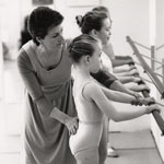 I just love teaching young students as they work hard to understand the technical do's and don'ts of ballet.