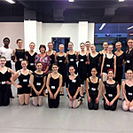Guest teaching at Fort Wayne USA Ballet Summer Intensive