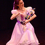 "Lauren in performance  as a beautiful 'Clara"" from Nutcracker"