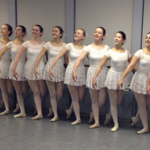Award winning teens and young adults in my open advanced ballet class.